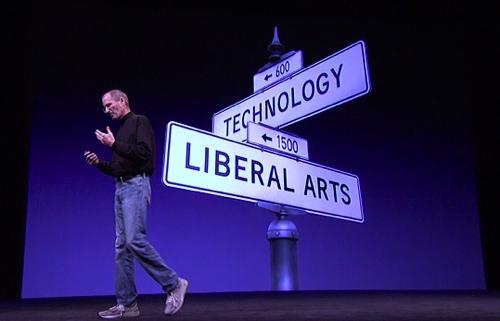 Steve Jobs tecnología de traducción