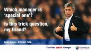 Mourinho inglés globés gestión de activos